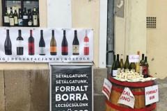 A bor városa