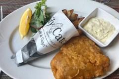 Fish & chips a győri Belga étteremben