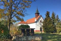 1718-ban épült Sarlós Boldogasszony-kápolna