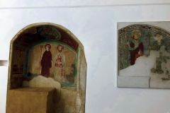 freskók a kápolnában