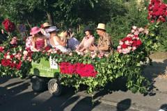 Felvonulás a Szőregi Rózsaünnepen