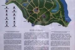 Tatai Angolpark térképe