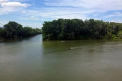 A Tisza és a Bodrog találkozása