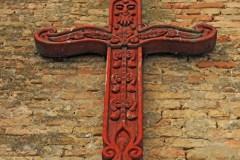 Kereszt a Zeleméri templomromon
