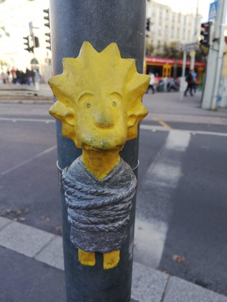 Kolodko Mihály miniszobrai díszítik Budapest utcáit