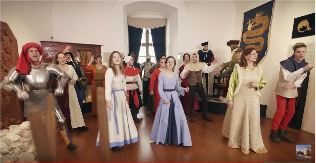 """""""Vár a Tenkes alján..."""" - Videoklip készült a Siklósi várról"""