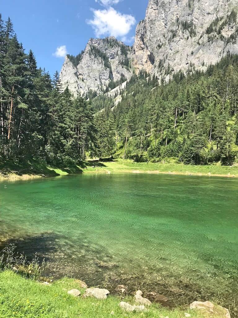 Grüner See - Ausztria smaragdzöld tava