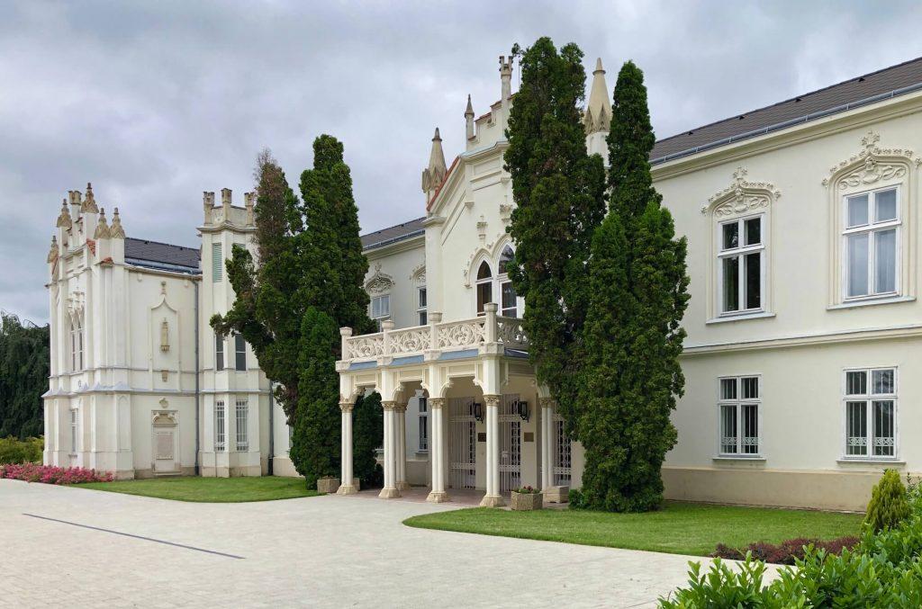 A martonvásári Brunszvik-kastély, ahol Beethoven is megfordult