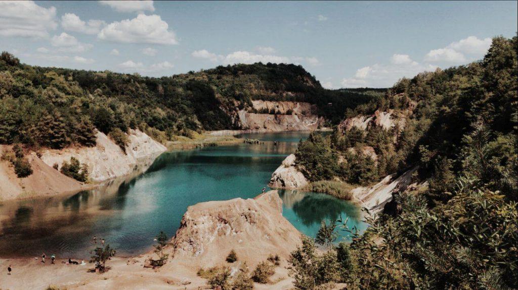 Rudabányai bányató - Magyarország legmélyebb tava