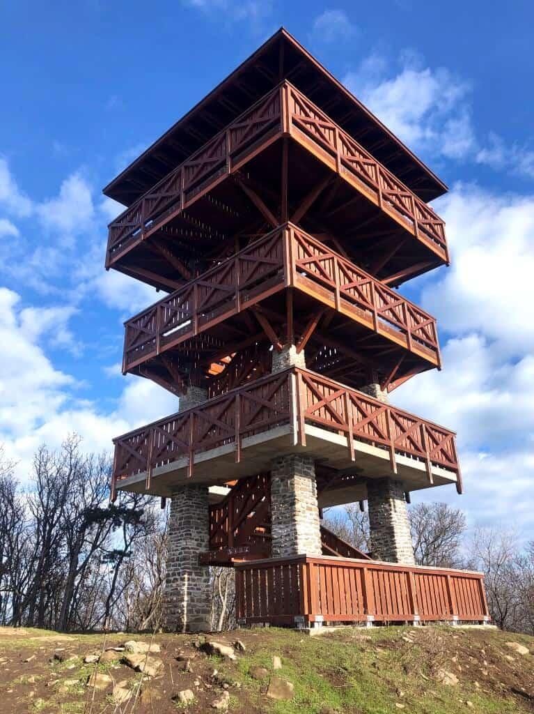 Őrtorony-kilátó, Tihany