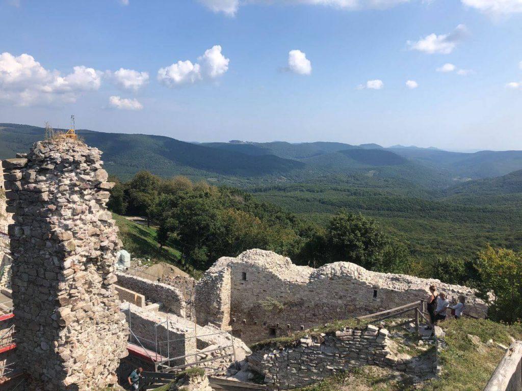 Regéci vár, ahol II. Rákóczi Ferenc a gyerekkorát töltötte
