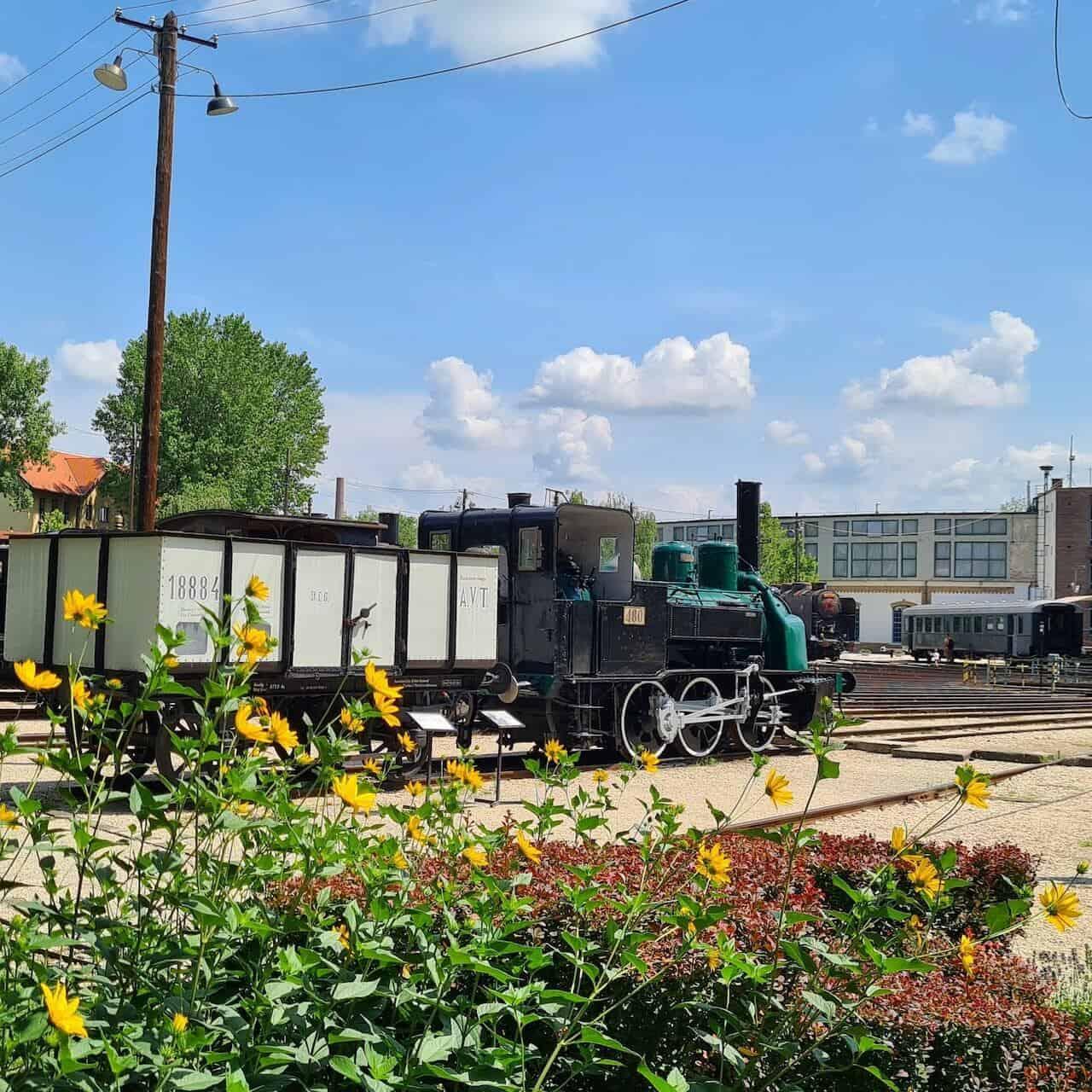 Vasúttörténeti Park, Európa első interaktív vasúti parkja