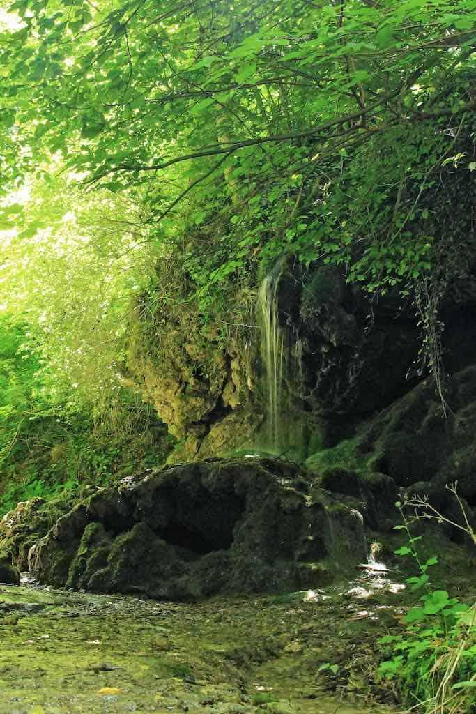 Csurgó-kút - a Bakony egyik legszebb vízesése