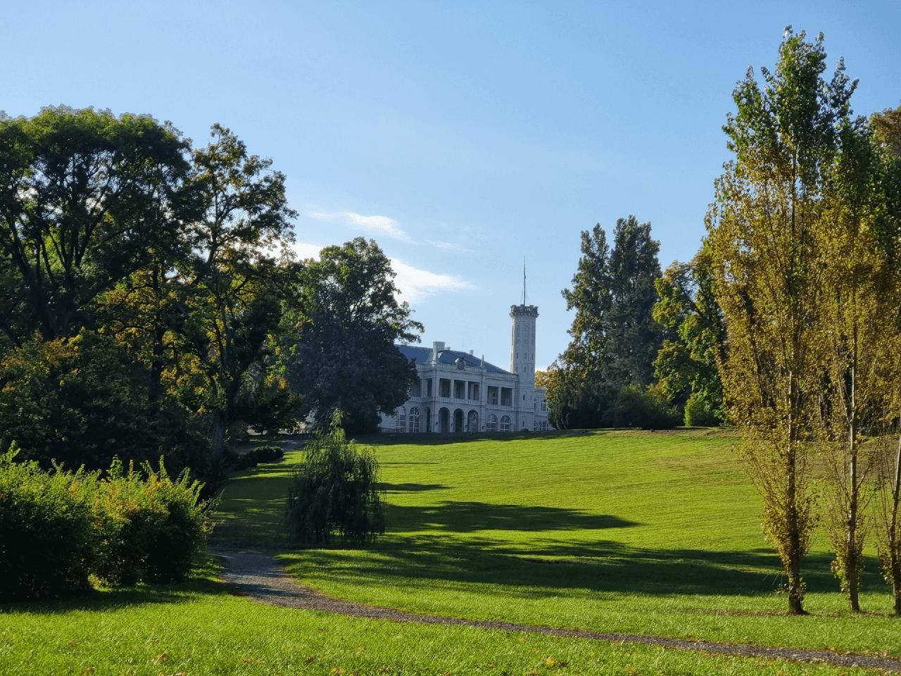 Károlyi-kastély, kastélykert, Füzérradvány
